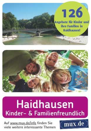 Titel Infoflyer Kinder- und Familienfreundliches Haidhausen