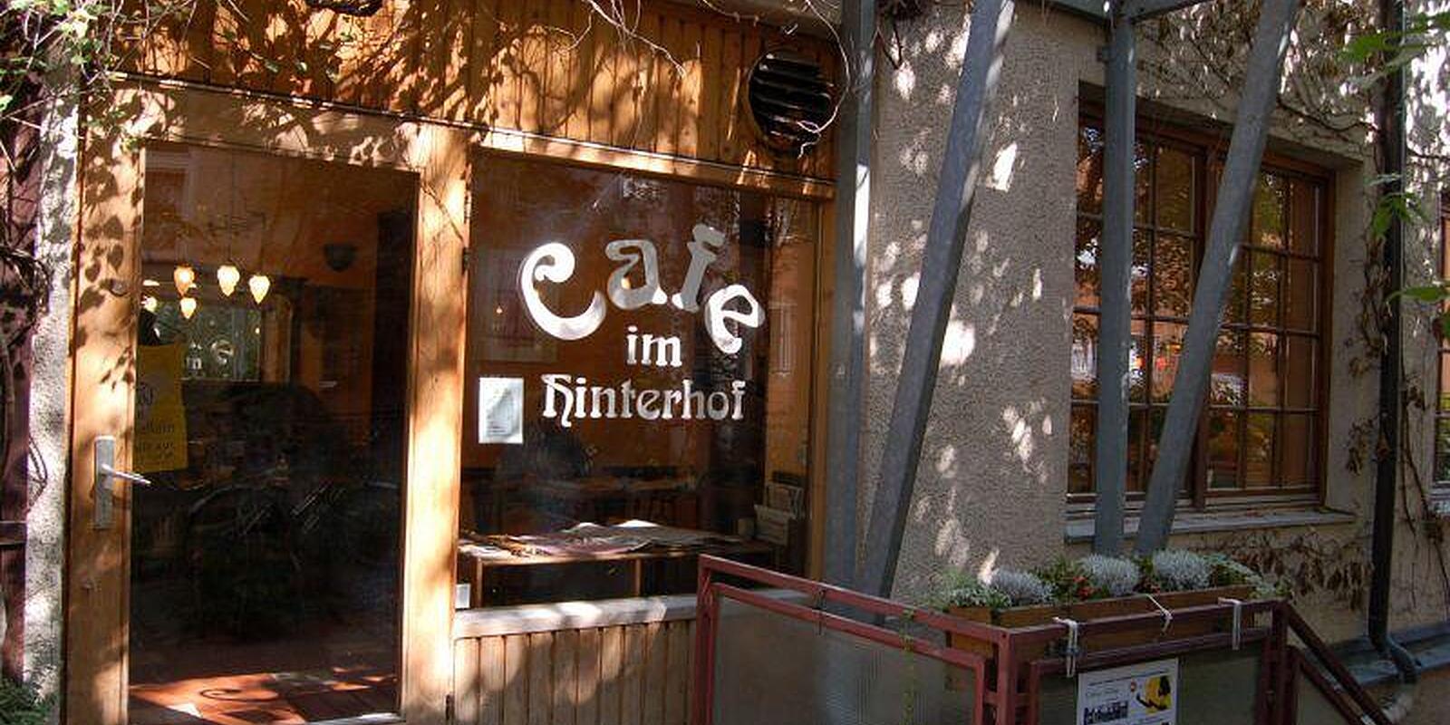 Cafe Im Hinterhof Sedanstr Haidhausen Munchen Cafe