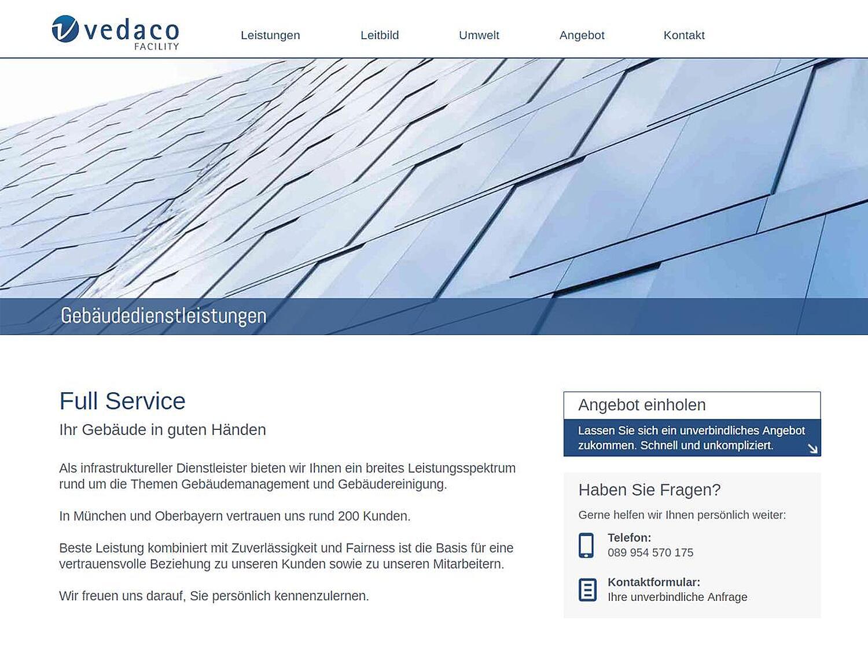 Vedaco Gmbh Büro Und Gebäudereinigung Haydnstr Ludwigsvorstadt