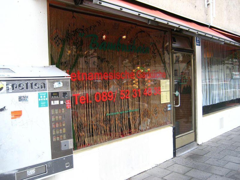 Bambushain Schleissheimer Str Schwabing Munchen Bambushain