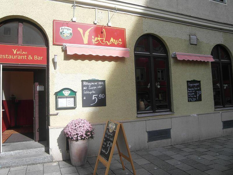Viethaus Restaurant Bar Schellingstr Maxvorstadt Munchen