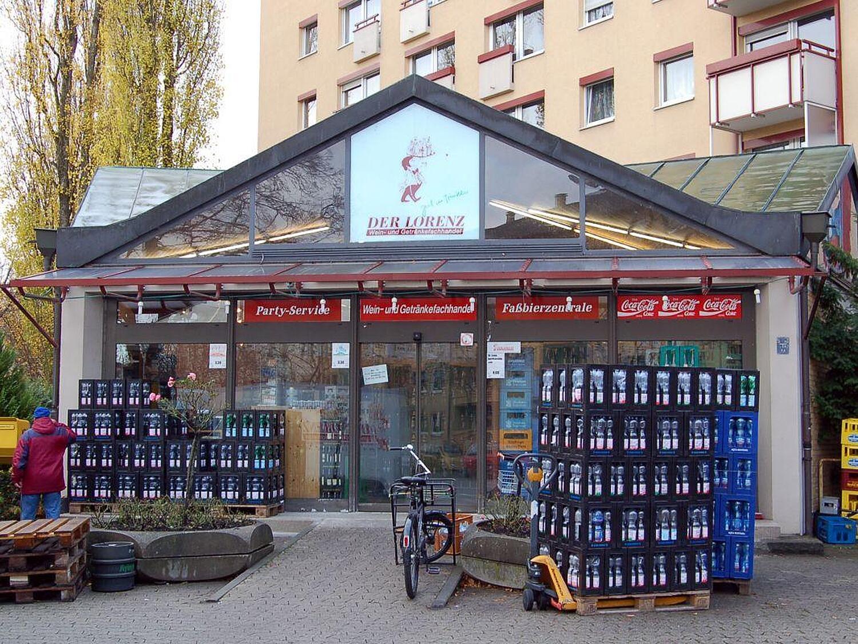 Der Lorenz Wein&Getränkefachhandel, Baubergerstr., Moosach, München ...