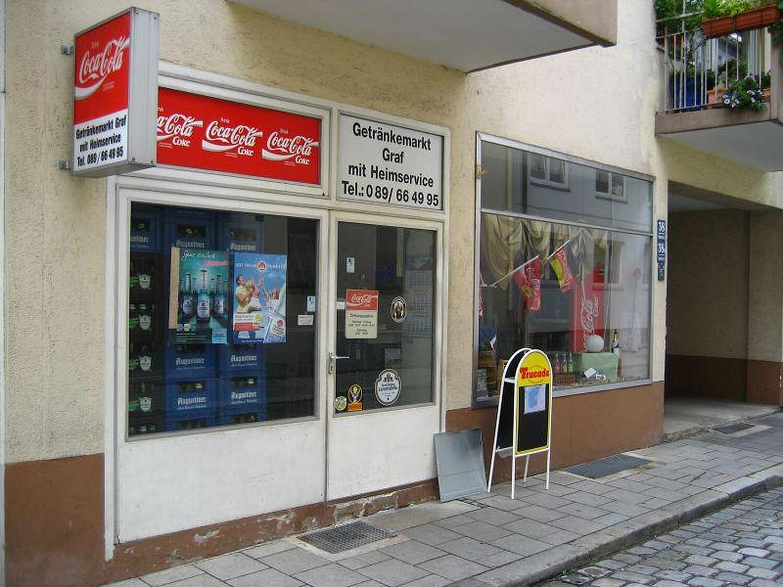 Getränkemarkt Graf, Sommerstr., Untergiesing (Giesing), München ...
