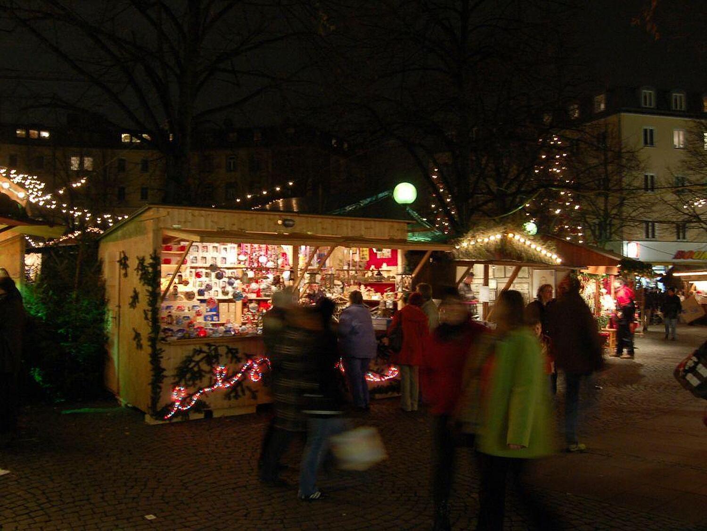 Haidhausen Weihnachtsmarkt.Haidhauser Weihnachtsmarkt Weissenburger Platz Haidhausen