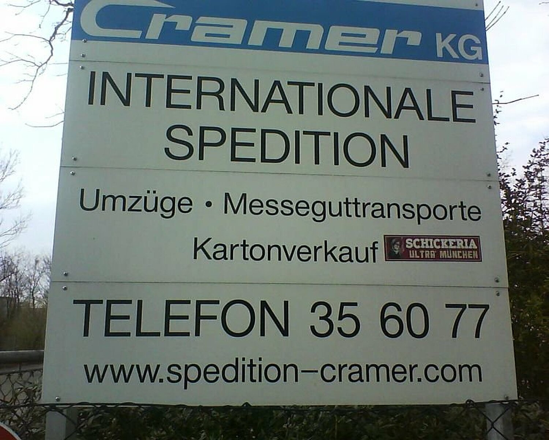 Spedition Cramer Kg Planegger Str Pasing München