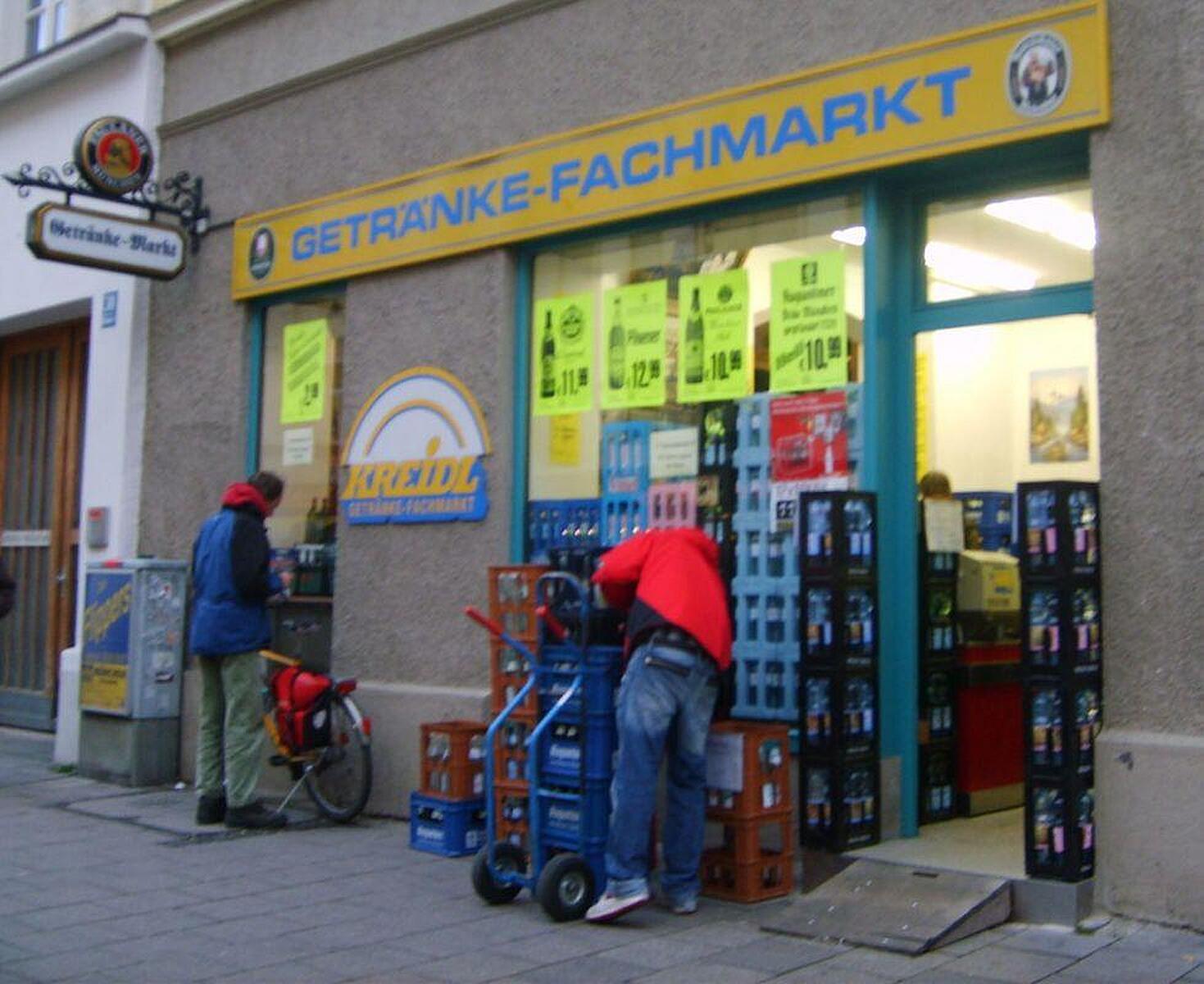 Getränke Fachmarkt, Weißenburger Str., Haidhausen, München ...