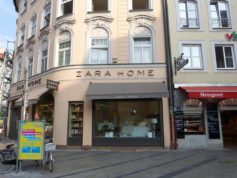 Zara Home Fürstenfelder Str Altstadt München Einrichtung