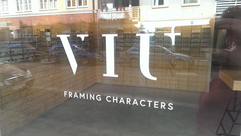 VIU Framing Characters, Reichenbachstr., Glockenbachviertel, München ...