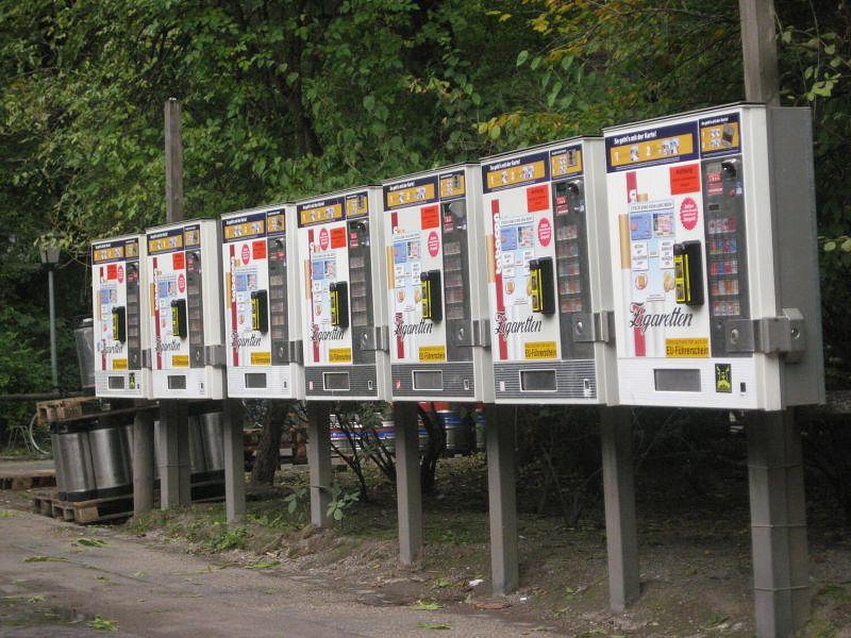 Zigarettenautomat Englischer Garten Schwabing M 252 Nchen