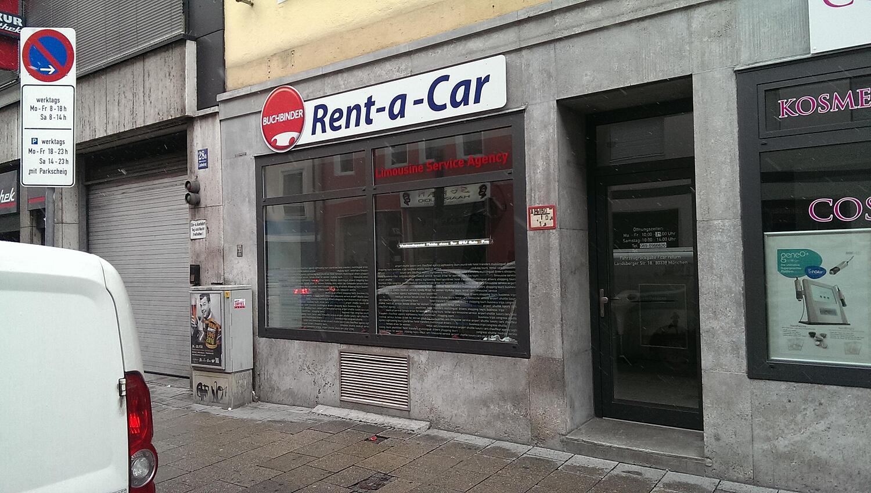 buchbinder rent a car landwehrstr ludwigsvorstadt m nchen buchbinder rent a car. Black Bedroom Furniture Sets. Home Design Ideas