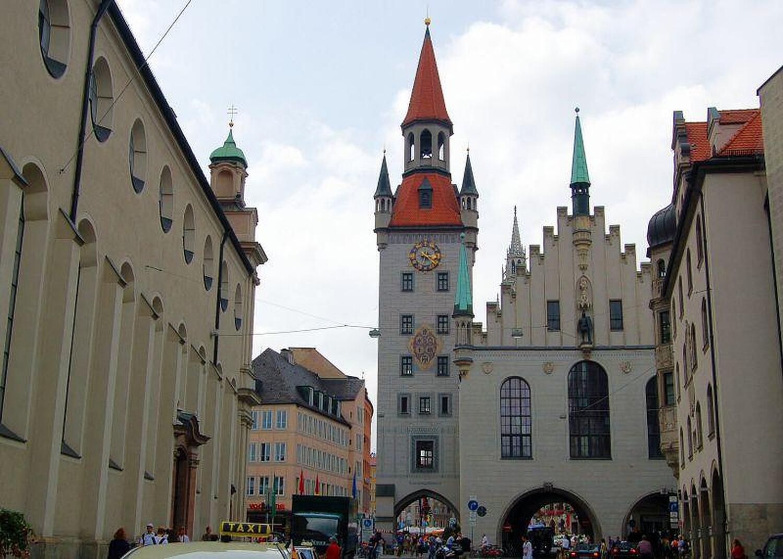 Altes Rathaus Marienplatz Altes Rathaus Altstadt Munchen Stadtverwaltung Willkommen