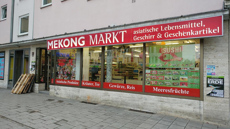 Mekong Markt Giesinger Bahnhofplatz Obergiesing Giesing München