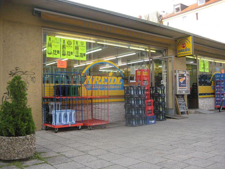 Getränkemarkt Kreidl, Speyerer Str., Schwabing, München ...