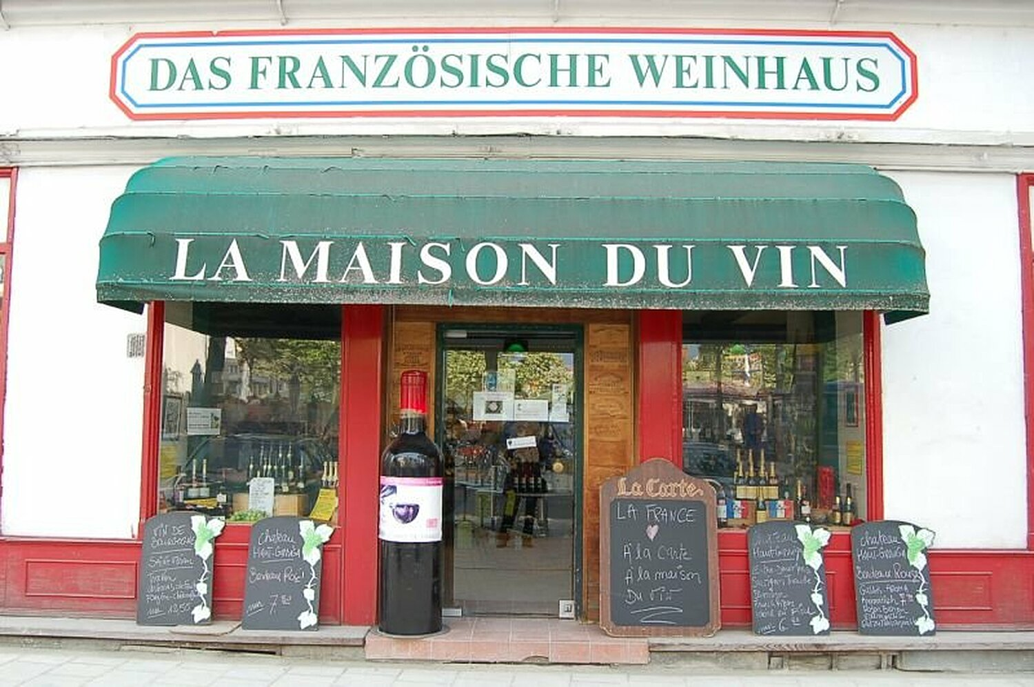 la maison du vin pr lat zistl str altstadt m nchen la maison du vin willkommen. Black Bedroom Furniture Sets. Home Design Ideas