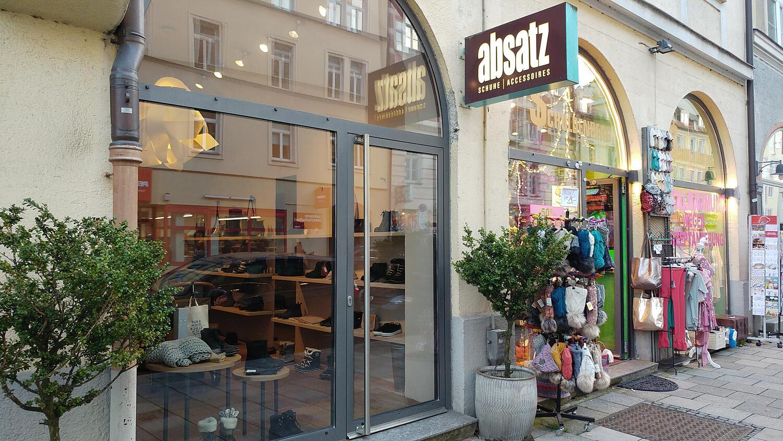 Absatz, Hohenzollernstr. Schwabing, München Spezial