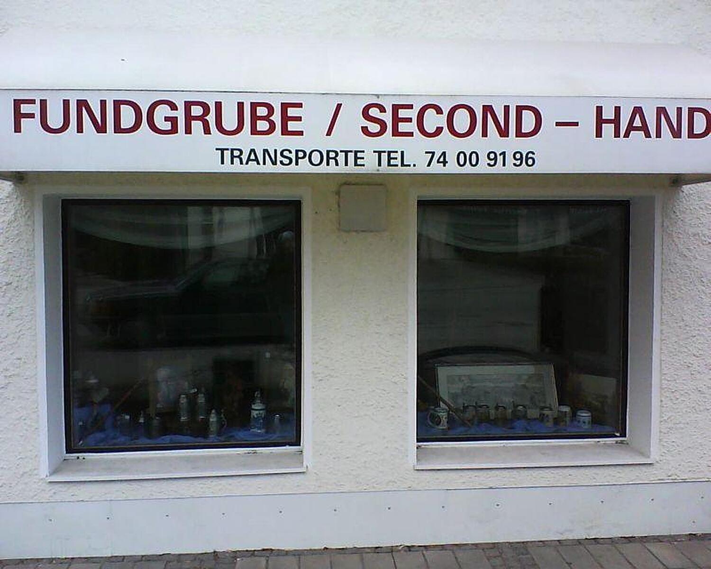 Fundgrube Großhaderner Str Hadern München Second Hand Möbel