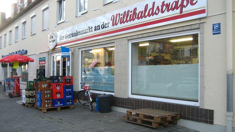 Getränke Willibald, Willibaldstr., Laim, München - Getraenke ...