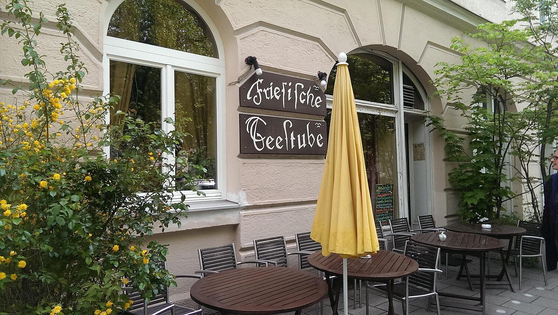 Friesische Teestube, Pündterplatz, Schwabing, München - Friesische ... Wintergarten Design Mit Teestube Bilder