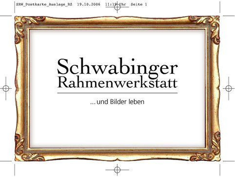 Schwabinger Rahmenwerkstatt, Metzstr., Haidhausen, München ...