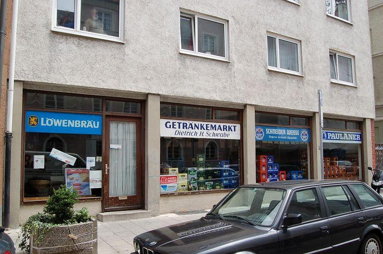 Getränkemarkt H. Schwabe, Holzhofstr., Haidhausen, München ...