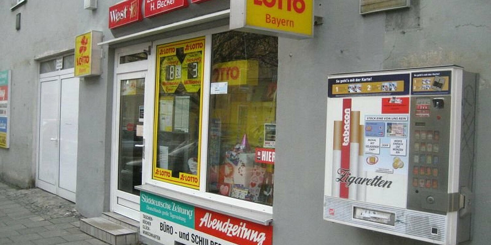 Lotto Annahmestelle Finden