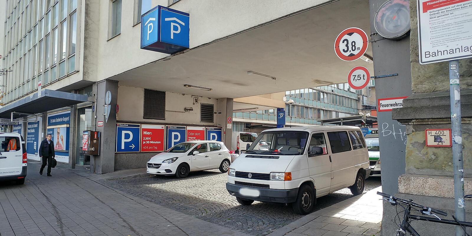 Parkhaus München Hauptbahnhof