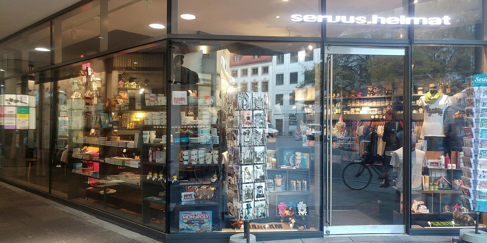 servus heimat, Brunnstr., Asam-Hof Altstadt, München - T ...