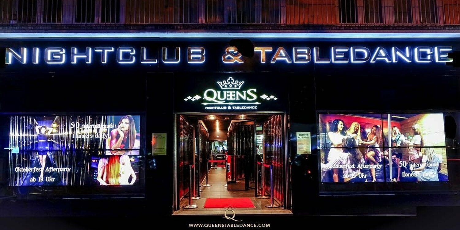 Queens Nightclub&Tabledance, Goethestr., Ludwigsvorstadt