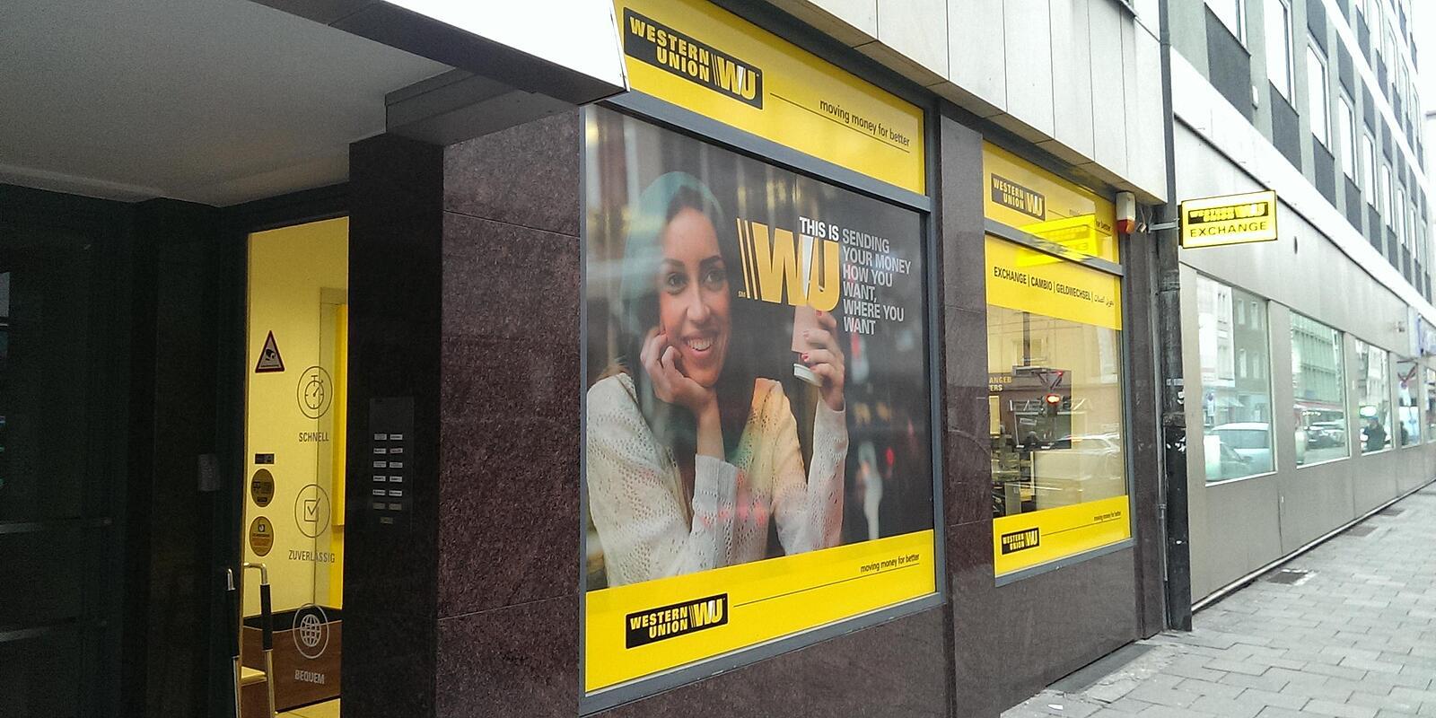 Sparkasse Western Union Geldtransfer