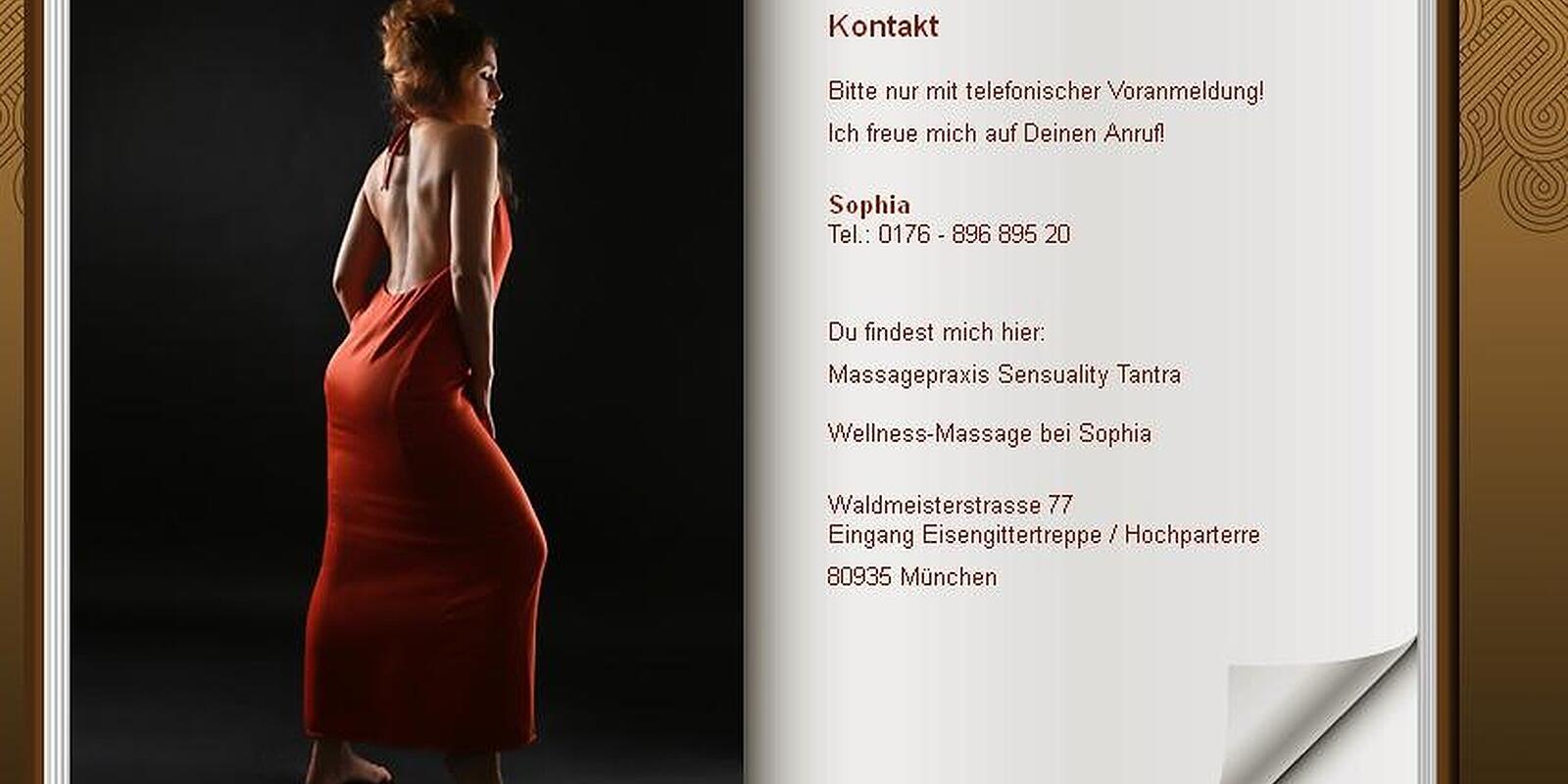 massage femme fatale bei sophia dietlindenstr schwabing. Black Bedroom Furniture Sets. Home Design Ideas