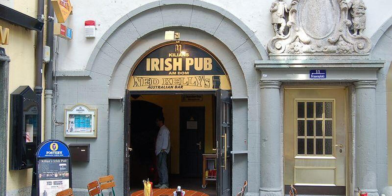 kilians irish pub frauenplatz altstadt m nchen restaurant willkommen. Black Bedroom Furniture Sets. Home Design Ideas