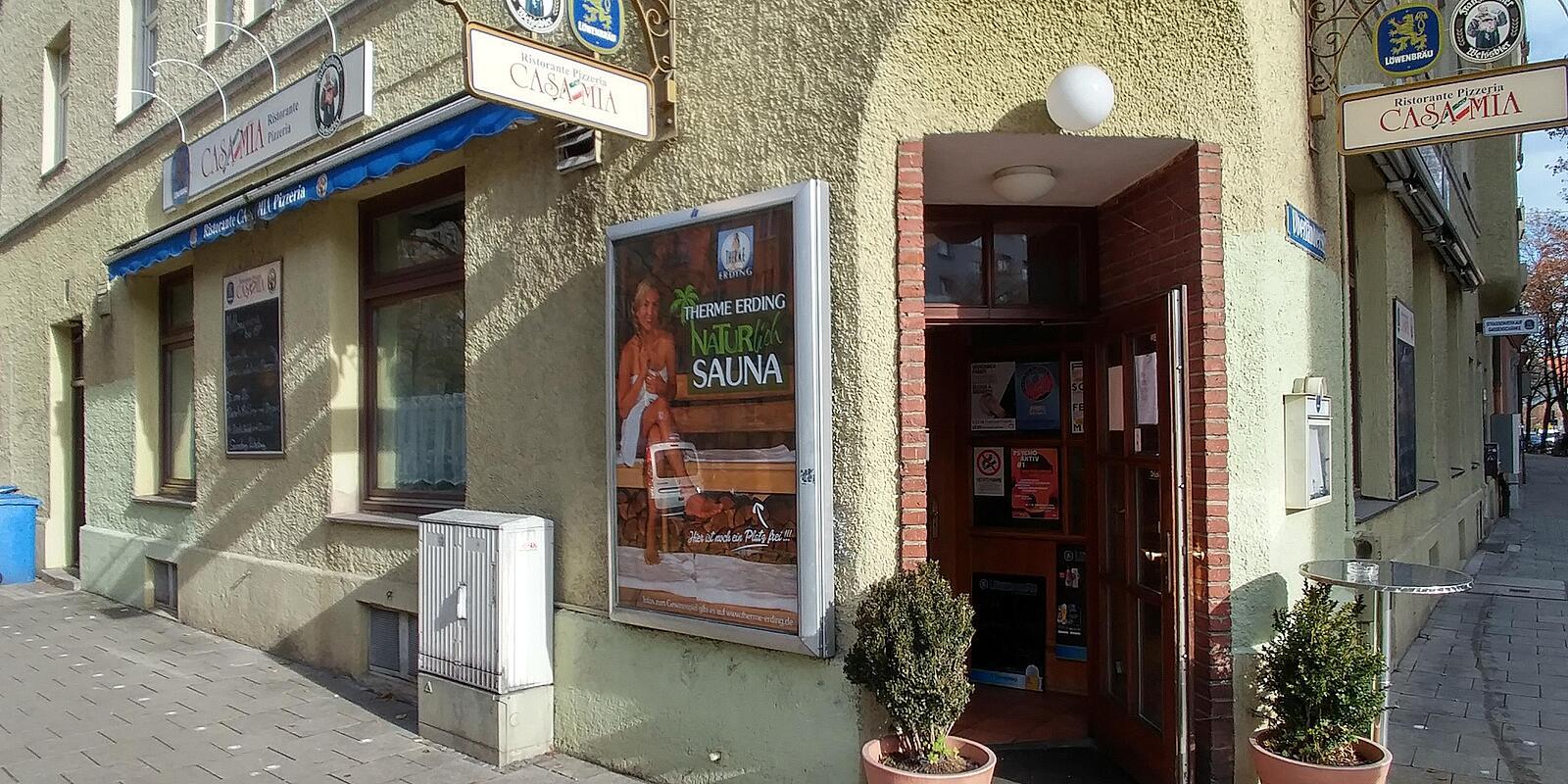 ristorante pizzeria casa mia implerstr untersendling m nchen italienisches restaurant. Black Bedroom Furniture Sets. Home Design Ideas