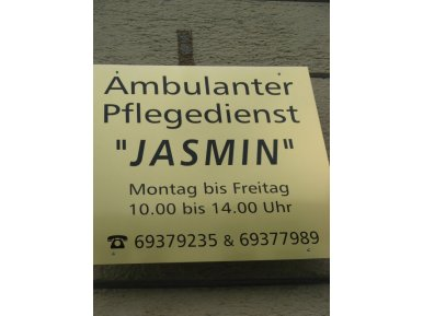 Ambulanter Pflegedienst Jasmin