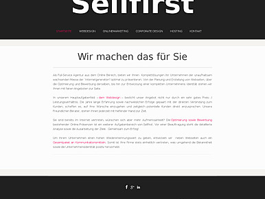 Sellfirst Webdesign