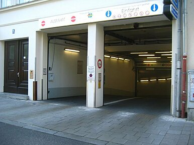 Parkgarage Rieger-City (P05)