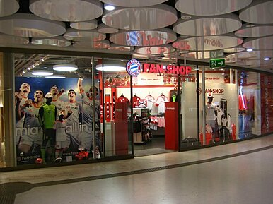 FC Bayern Fan-Shop Stachus
