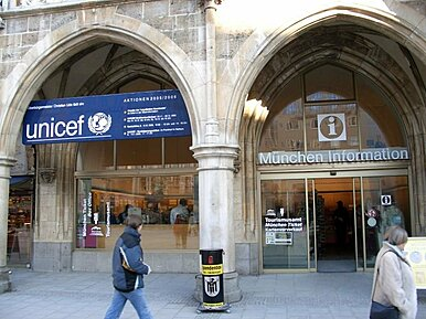Tourist Information am Marienplatz