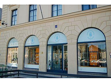 porzellan manufaktur nymphenburg odeonsplatz ecke briennerstra e altstadt m nchen. Black Bedroom Furniture Sets. Home Design Ideas