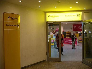Post Hauptbahnhof öffnungszeiten