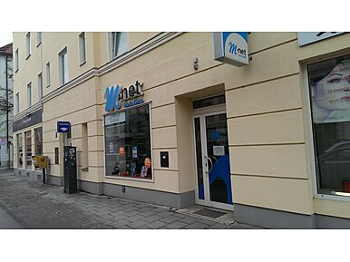 M-net Shop in der Au