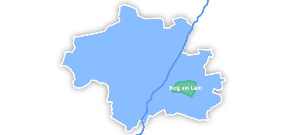 Lage Berg am Laims in München