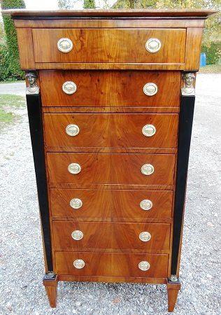 Kommode schmal antik  Antiquitäten Alling Biedermeier-, englische, franz. Möbel u ...