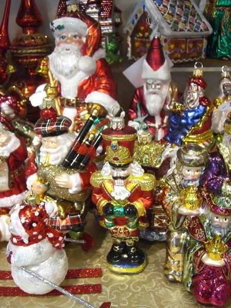 weihnachtsschmuck aus glas