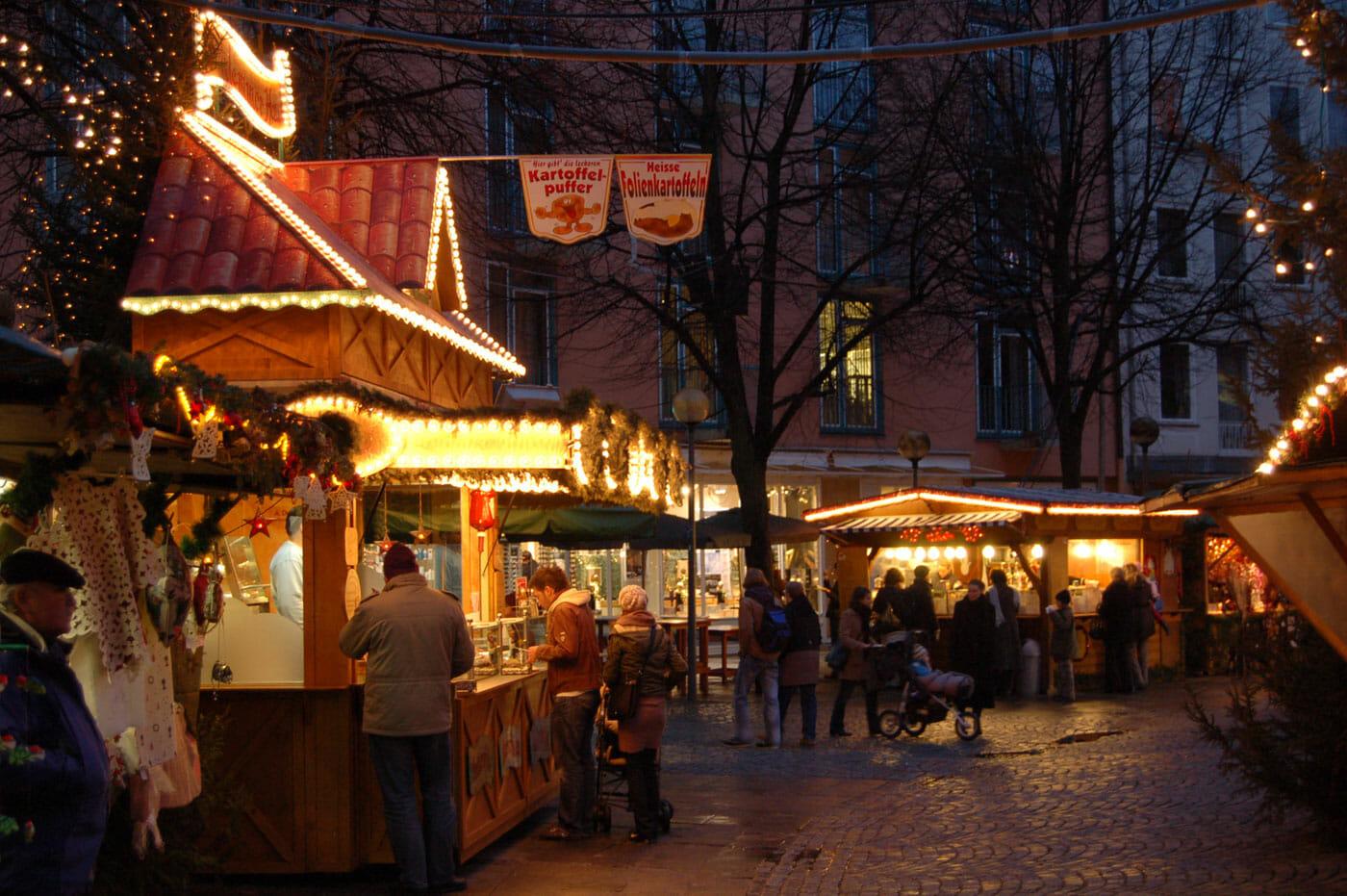 Haidhausen Weihnachtsmarkt.Haidhausen Munchen Das Beliebte Stadtviertel