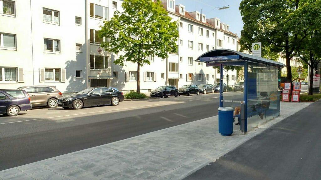 Haltestelle Mariahilfplatz - Auer Dult