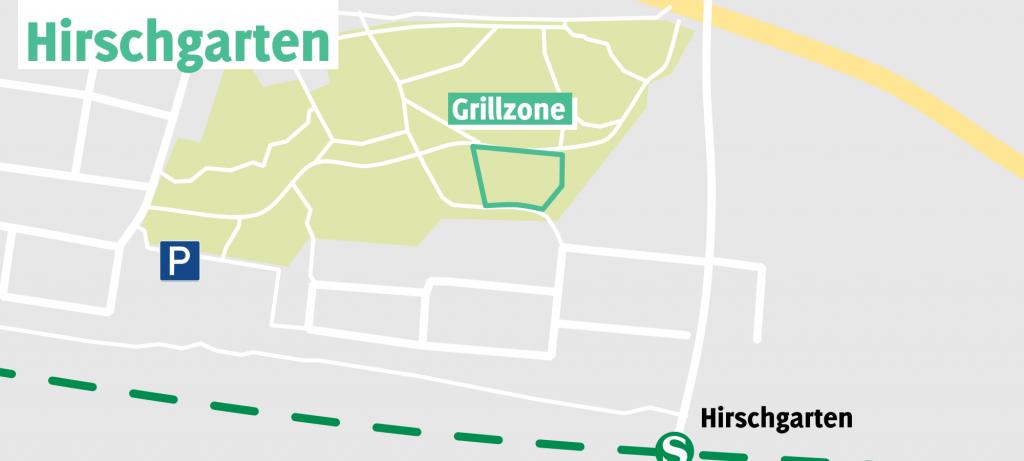 Grillen im Hirschgarten